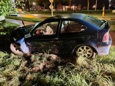 Gecrashte auto zonder inzittenden bij Beek stelt politie voor raadsel