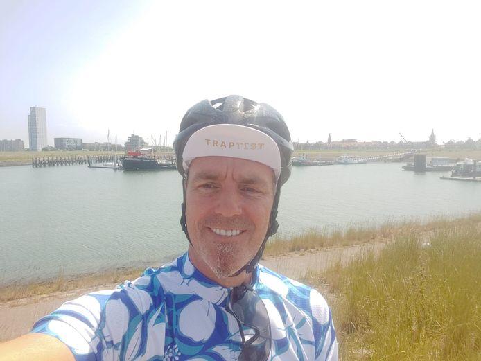 François Kint van Traptist gaat heel Nederland door op de fiets.