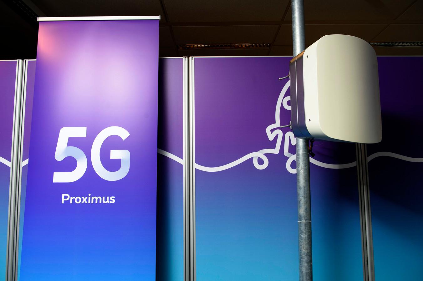 Proximus a activé la technologie 5G à plusieurs endroits près d'Anvers, de Gand et de Haasrode.
