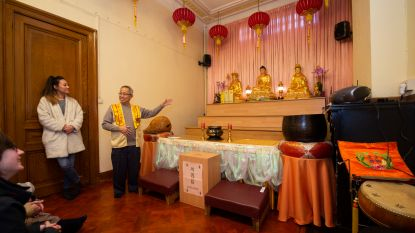 Bezoek Chinese tempel tijdens rondleiding in China Town