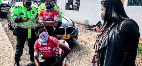 Quintana traint weer na aanrijding