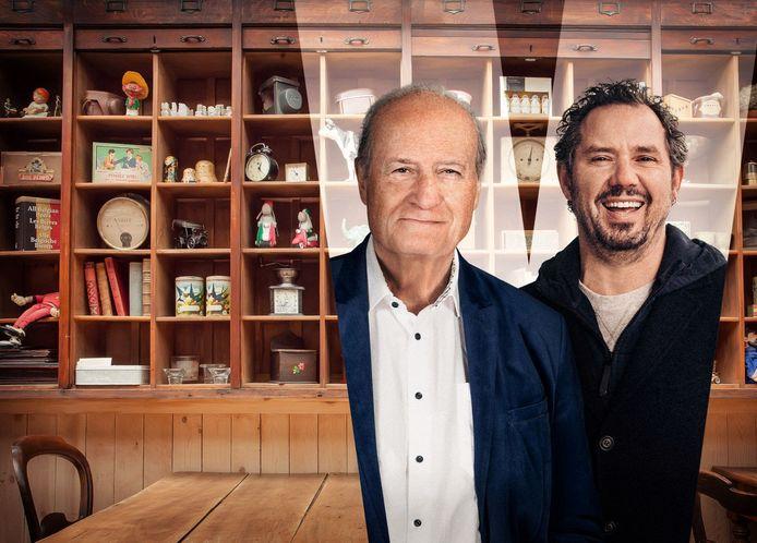 Jacques Vermeire en Axel Daesleire zijn de gezichten van 'Eenmaal Andermaal'.