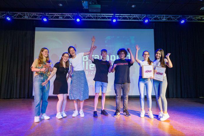 In het Heerbeeck College in Best presenteerden havo en vwo-leerlingen woensdag hun plannen voor de ideale Brainportschool.