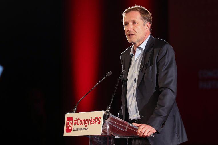 PS-voorzitter Paul Magnette. Beeld BELGA
