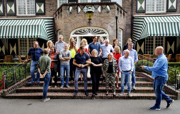 Het kabinet streek afgelopen week neer in Oisterwijk voor de jaarlijkse heidag. Er werd onder meer gesproken over een geheim plan dat prompt uitlekte. Foto: ANP/Robin van Lonkhuijsen