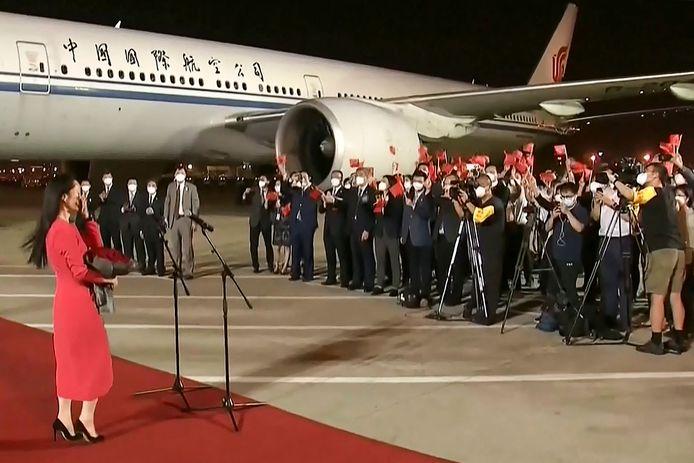 Le retour triomphal de Meng Wanzhou en Chine