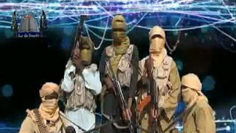 Een foto van de islamistische beweging. Beeld AFP