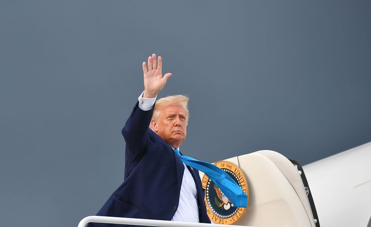Amerikaans president Donald Trump. Beeld AFP