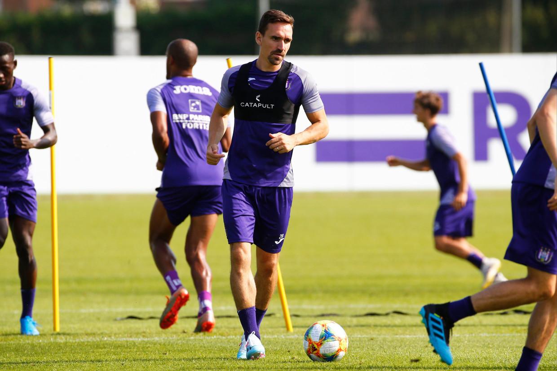 Sven Kums verlaat Anderlecht. Beeld Photo News