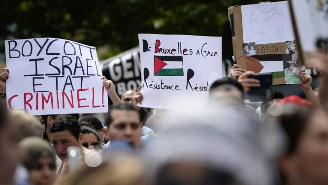 Klacht bij Brussels parket voor anti-joodse slogans en agressie