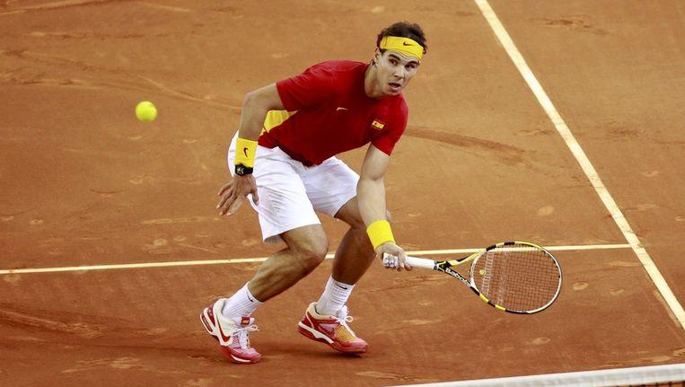 Rafael Nadal. Beeld reuters