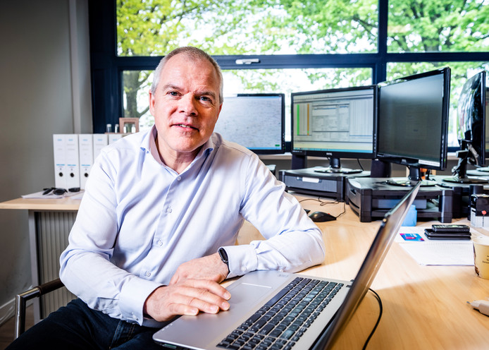 Directeur Rob Jansen van Chain Logistics.