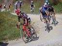 De grindpaden zijn karakteristiek voor de Strade Bianche.