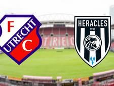 Heracles Almelo in Utrecht op jacht naar eerste uitzege