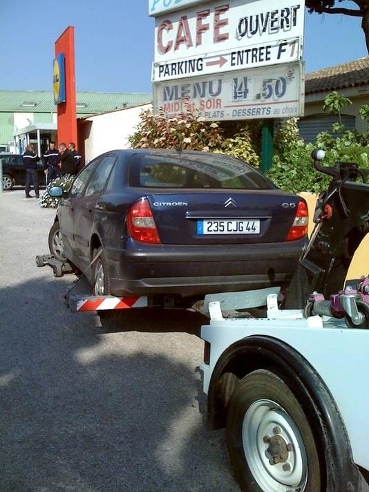 De auto van de vader, de vermoedelijke dader, werd teruggevonden in Roquebrune-sur-Argens nabij Fréjus.