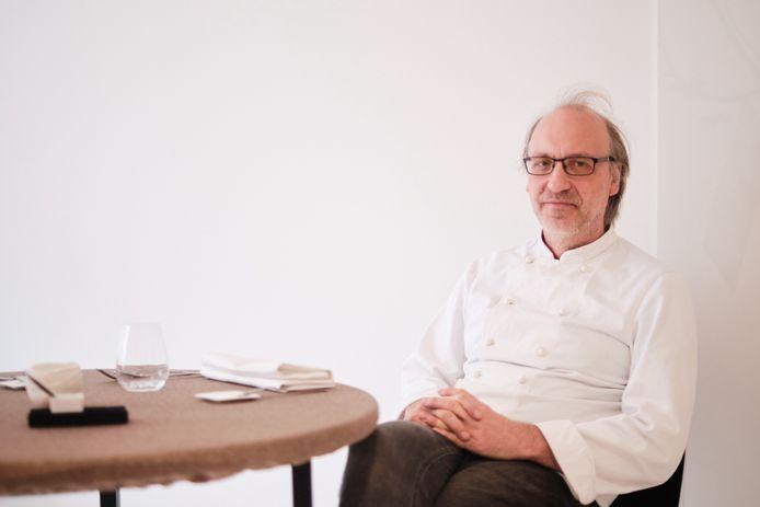 Chef-kok David Schulz van L'air des Sens in Zoutleeuw.