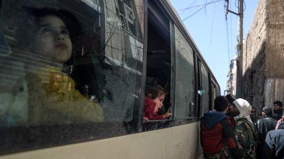 Tweede dag van evacuaties uit Oost-Ghouta