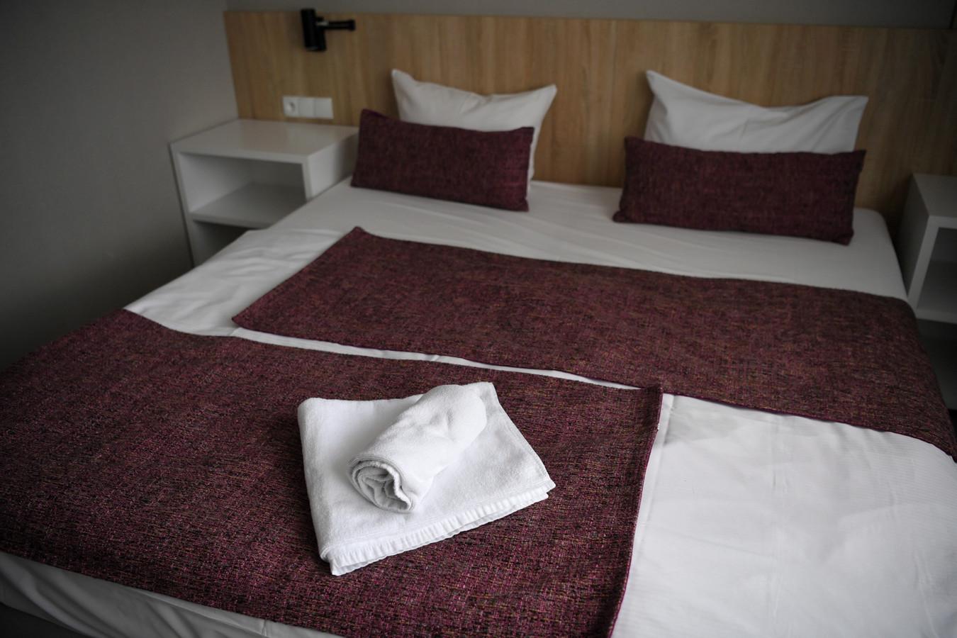 Een hotelkamer, foto ter illustratie