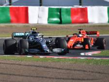 Bottas wint in Japan, Verstappens race verpest na botsing met Leclerc