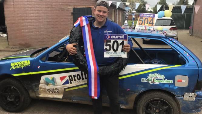 Jonge Emsternaar is Nederlands kampioen autocross