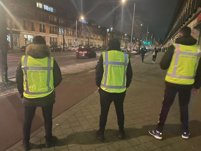 Buurtvrijwilligers Hobbemastraat.