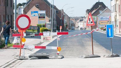 Godveerdegemstraat weer open voor verkeer
