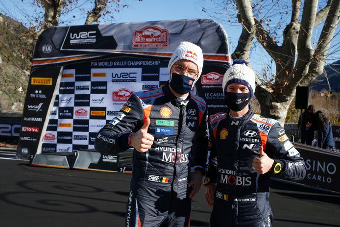 THierry Neuville et Martijn Wydaeghe remettent le couvert en WRC.