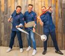 Bart Nens, Steven Aerts en  Vincent Niclaes van Smoke and Fire.