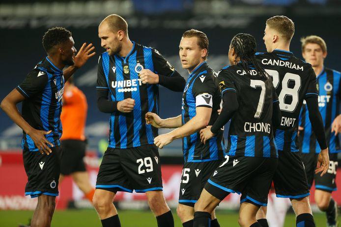 Club Brugge is niet meer bij te halen in de reguliere competitie.