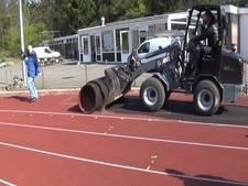 Oude atletiekbaan AV'34 gaat aan flarden