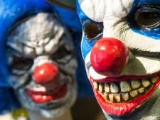 Horrorclown jaagt kinderen schrik aan