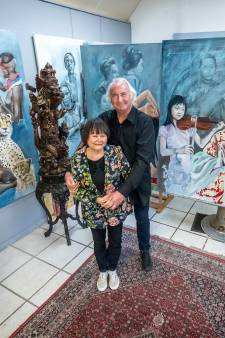 Reuselse kunstenaar Louis Nagelkerke gefascineerd door Indonesische cultuur