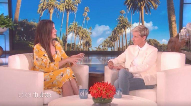 Sandra Bullock en Ellen DeGeneres