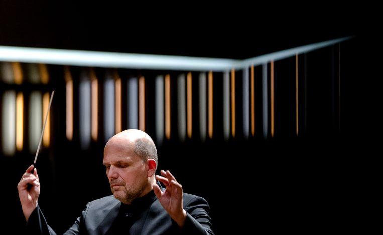 Dirigent Jaap van Zweden. Beeld ANP