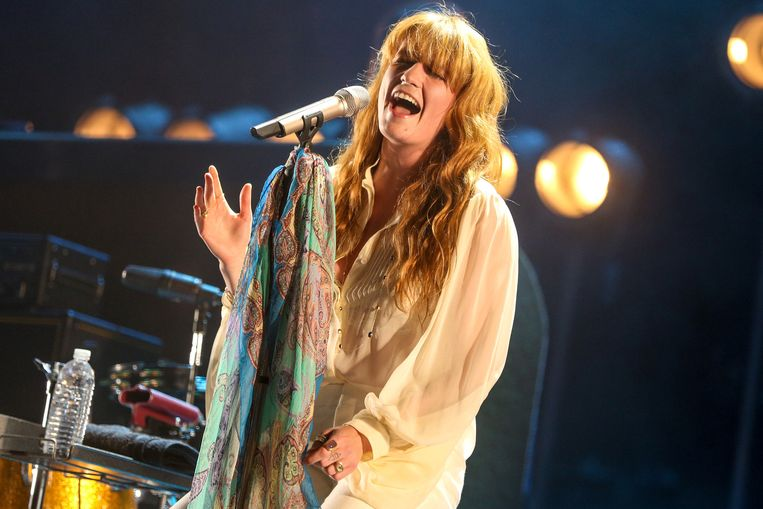 Zangeres Florence Welch. Beeld ap