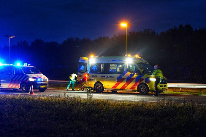 Vrijdagochtend vond er ongeval plaats op de A58 bij Gilze.