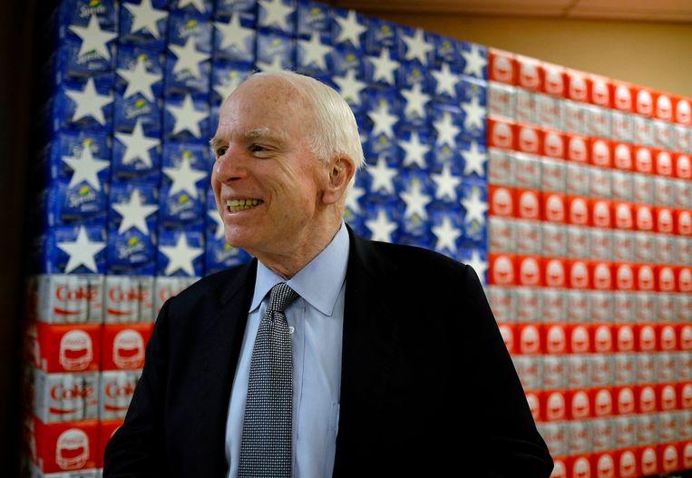 John McCain in 2016. Beeld Photo News