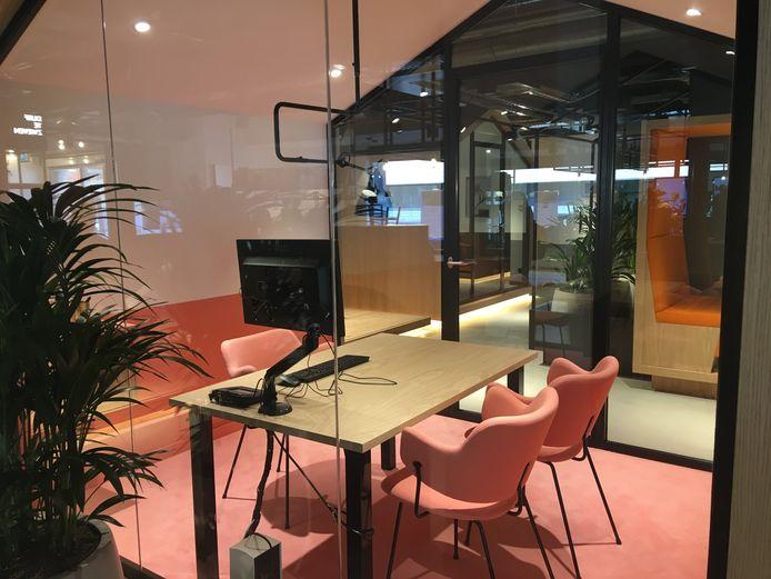 De nieuwe inrichting van ING in Breda