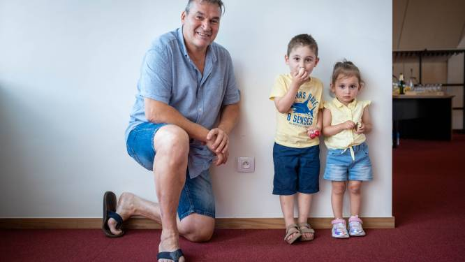"""Held Rudy (57) redde peutertje Ezra van verdrinkingsdood: """"Ik deed gewoon wat ik moest doen"""""""