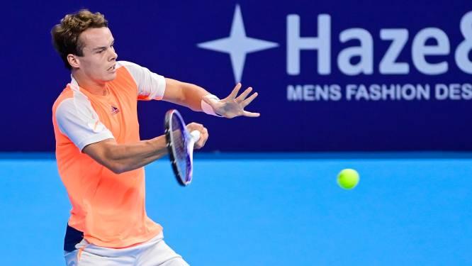 Michael Geerts brengt België langszij in Davis Cup, Ruben Bemelmans staat voor beslissende partij