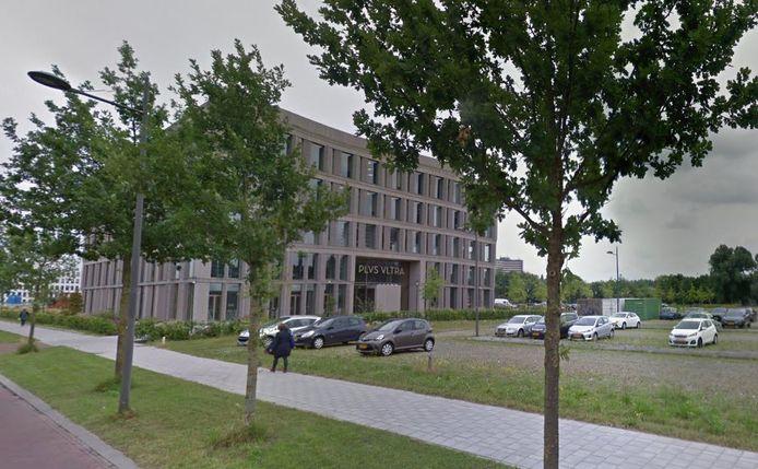 Het gebouw Plus Ultra op de Wageningse campus.