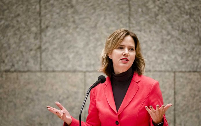 Minister Cora van Nieuwenhuizen van Infrastructuur en Waterstaat (VVD).
