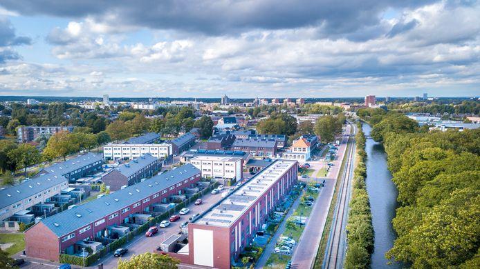 De Schatkamer van  Zuid: een voorbeeld van een moderne buurt met verschillende woonvormen. Gelegen aan het kanaal; een zone waar Apeldoorn nog veel meer nieuwbouw wil plegen. Dichtbij deze plek ligt bijvoorbeeld de potentiële nieuwe buurt Kayersmolen Noord.