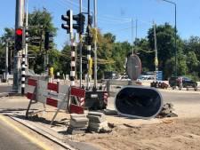 Druk kruispunt in Leusden gaat weekend dicht