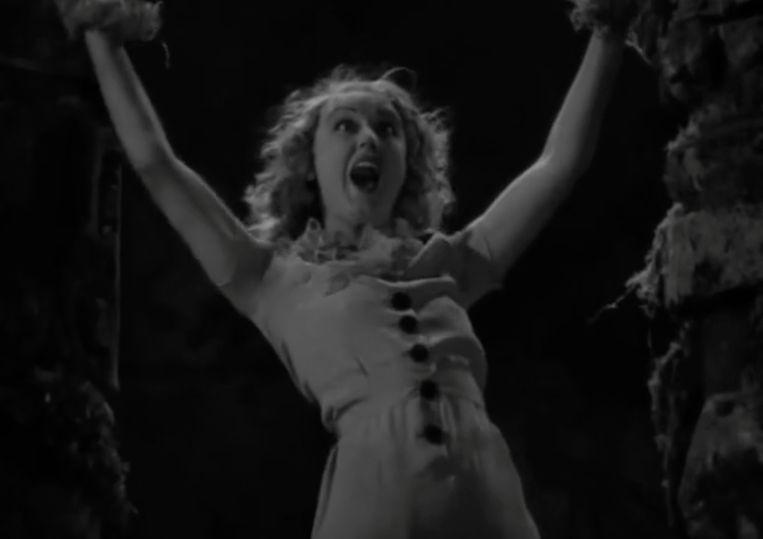 Fray Way in King Kong (1933). Beeld RV