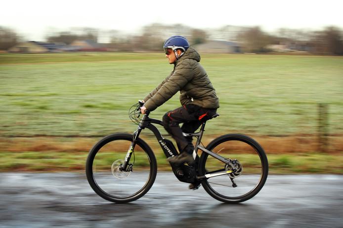 Voor de stoere fietser: de mountainbike HaiBike Xduro met elektrische ondersteuning.