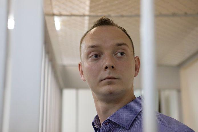 Ivan Safronov, opgepakt in Moskou.