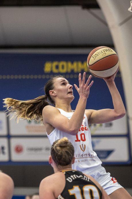Betuwse basketbalsters dubbelen Cangeroes uit Utrecht en blijven koploper Basketball League