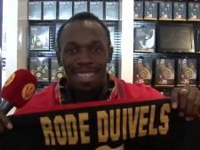Usain Bolt soutient les Diables rouges... et Fellaini
