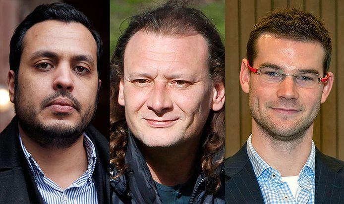 Van links naar rechts: Nourdin El Ouali, Jeroen van der Lee en Sven de Langen.